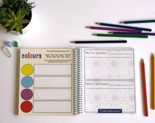 gratitude diary for kids